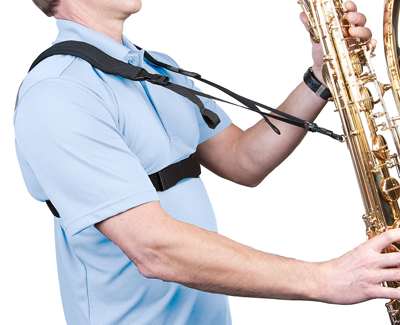 The Sax Practice Harness offers an innovative solution for players who experience neck and shoulder fatigue during long practice sessions